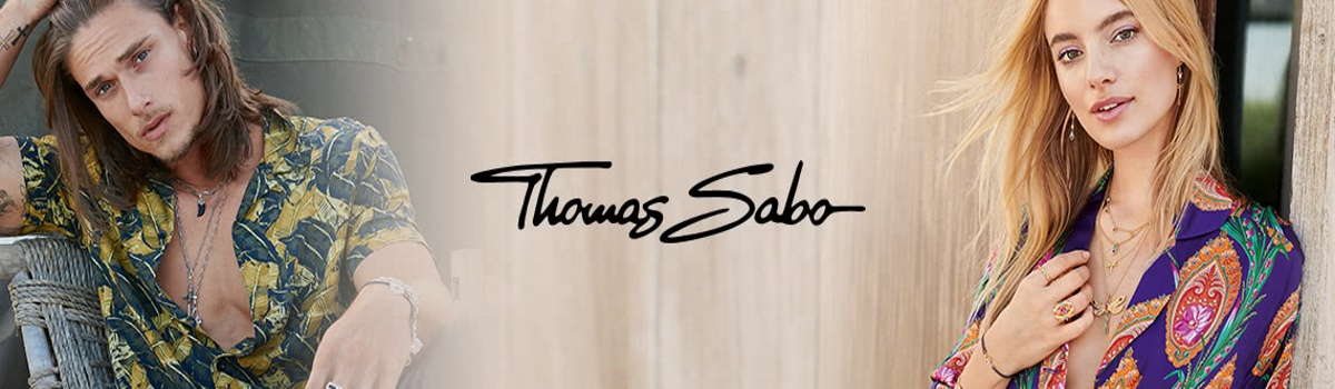 Banner showing the Thomas Sabo brand of Jewellery
