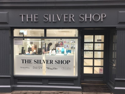 An external image of the Silver Shop in Darlington