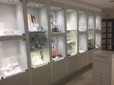 The inside of the Silver Shop - third image